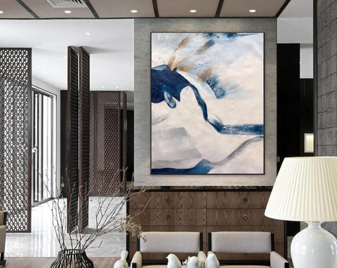 Image of Large original abstract painting | Oversized wall art F358-6