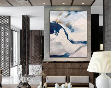 Large original abstract painting | Oversized wall art F358-6