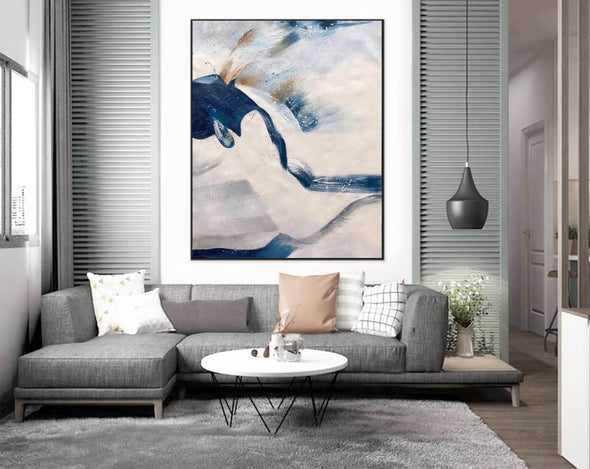 Large original abstract painting | Oversized wall art F358-7