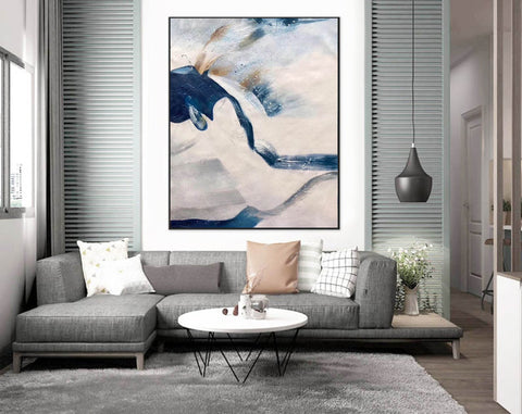 Image of Large original abstract painting | Oversized wall art F358-7