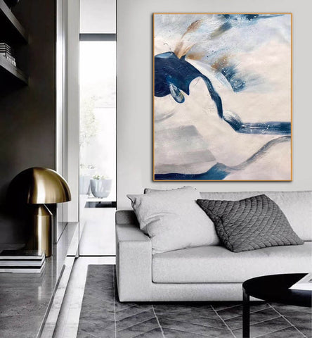 Image of Large original abstract painting | Oversized wall art F358-8