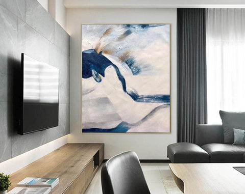 Image of Large original abstract painting | Oversized wall art F358-9