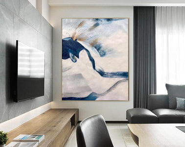 Large original abstract painting | Oversized wall art F358-9