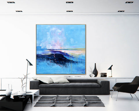 Image of Large original abstract painting | Oversized wall art F284-6