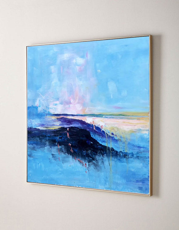 Abstract canvas painting ideas | Contemporary paintings F207-6