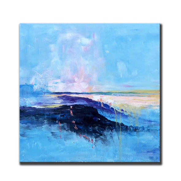 Abstract canvas painting ideas | Contemporary paintings F207-8