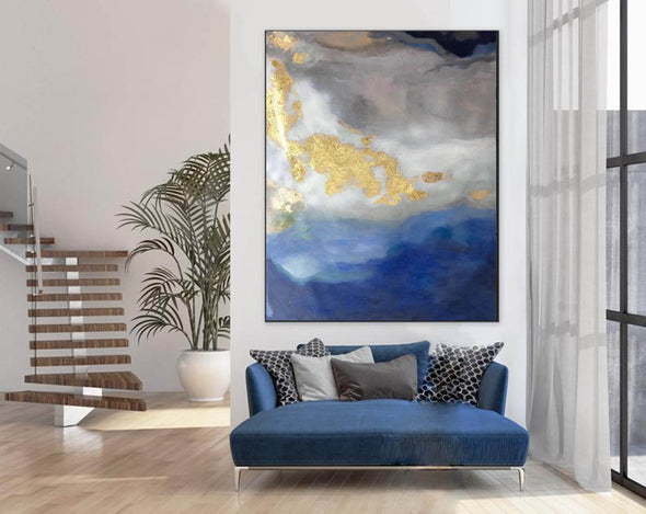 Modern abstract painting | Abstract wall art F364-5