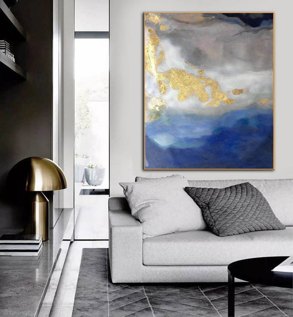 Modern abstract painting | Abstract wall art F364-8