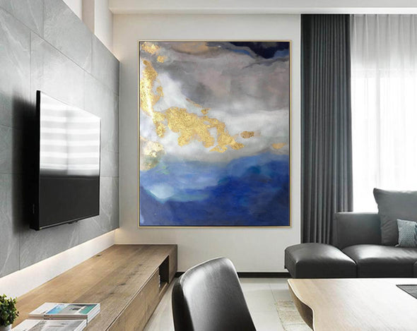 Modern abstract painting | Abstract wall art F364-9