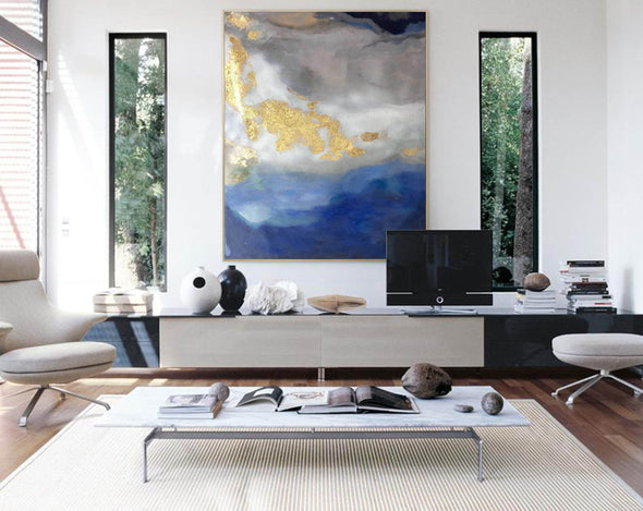 Modern abstract painting | Abstract wall art F364-1