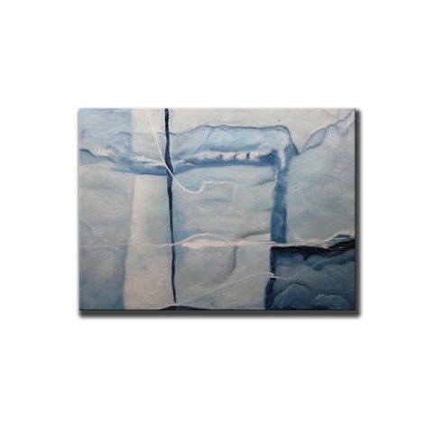 Image of Abstract acrylic painting | Oil painting on canvas F365-3