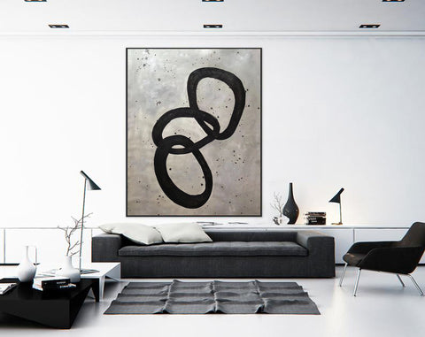 Image of Extra Large Wall Art | Original Abstract Painting F368-5