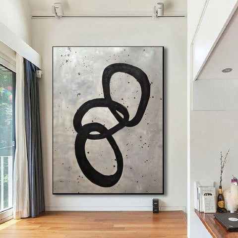 Image of Extra Large Wall Art | Original Abstract Painting F368-7