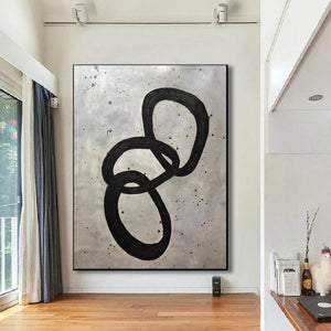 Extra Large Wall Art | Original Abstract Painting F368-7