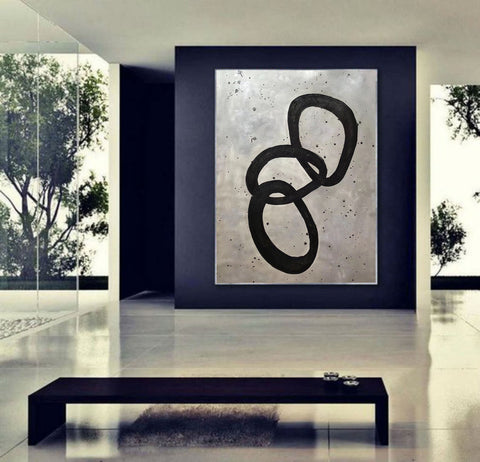 Image of Extra Large Wall Art | Original Abstract Painting F368-8