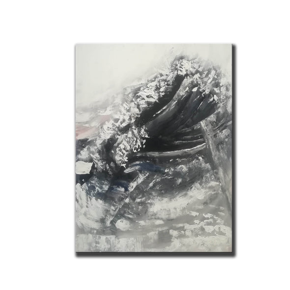 Oversized framed wall art | Large abstract wall art F369-4