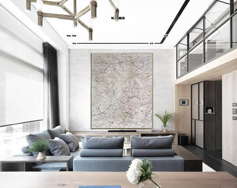 Image of Large wall art for living room | Wall art painting F370-2