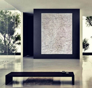 Large wall art for living room | Wall art painting F370-7