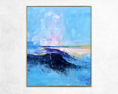 Extra large paintings, Canvas art painting F208-5