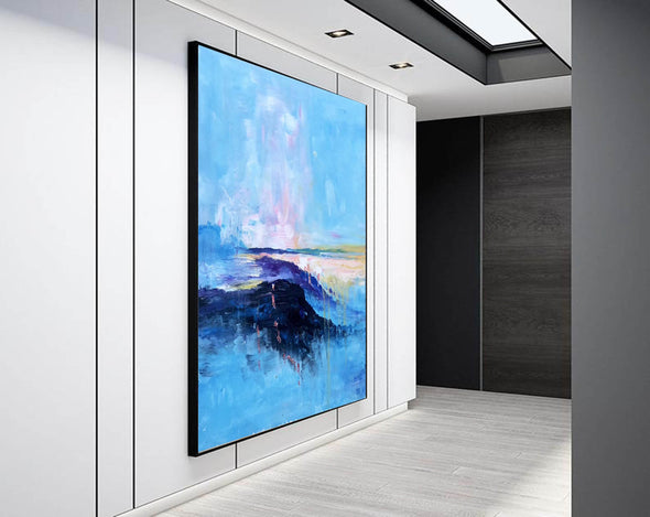 Extra large paintings, Canvas art painting F208-6