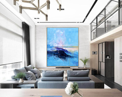 Extra large paintings, Canvas art painting F208-2