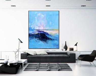 Extra large paintings, Canvas art painting F208-8