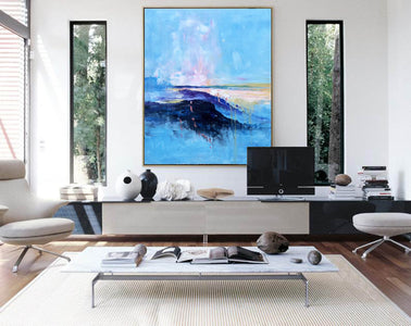 Extra large paintings, Canvas art painting F208-9