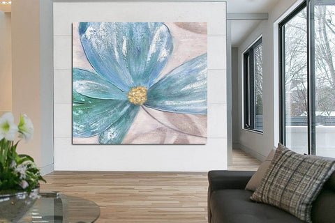 Image of Large Painting on Canvas | Original Painting on Canvas F372-5