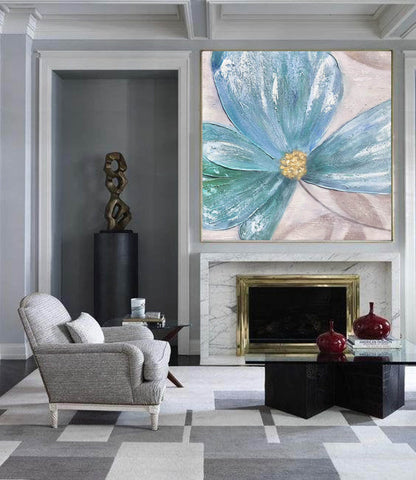 Image of Large Painting on Canvas | Original Painting on Canvas F372-9