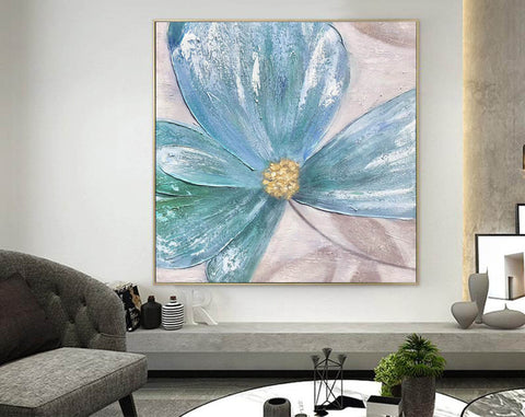 Image of Large Painting on Canvas | Original Painting on Canvas F372-1