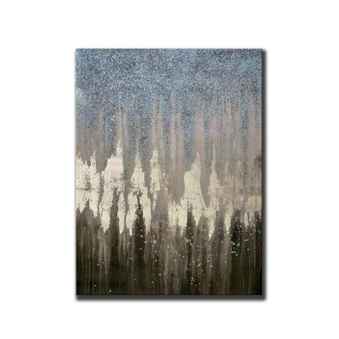 Image of Abstract Painting Original Large Acrylic Canvas Wall Art F379-4