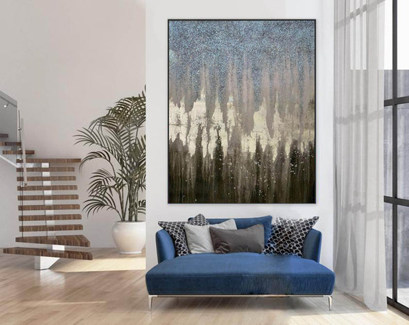 Abstract Painting Original Large Acrylic Canvas Wall Art F379-5