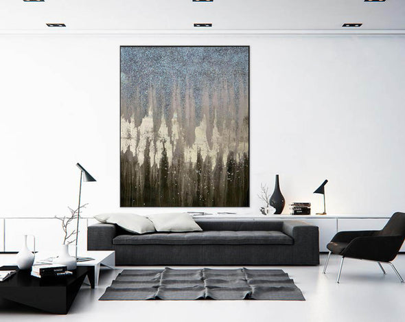 Abstract Painting Original Large Acrylic Canvas Wall Art F379-8
