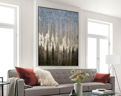 Image of Abstract Painting Original Large Acrylic Canvas Wall Art F379-9