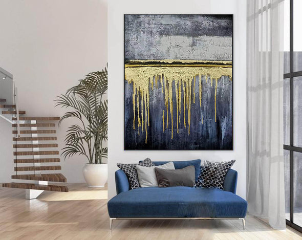 Expressionism Modern Painting Wall Art on Canvas F380-6