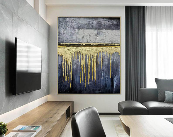 Expressionism Modern Painting Wall Art on Canvas F380-7