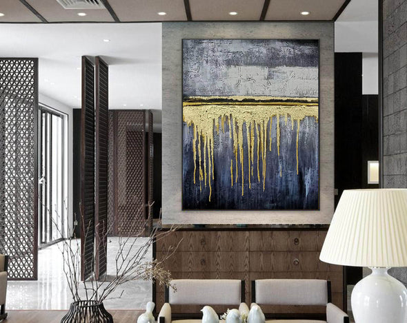 Expressionism Modern Painting Wall Art on Canvas F380-9