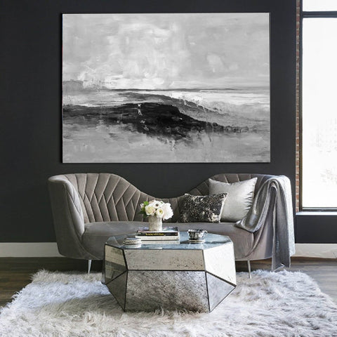 Image of Large oil painting, Large canvas, Canvas wall art F209-1