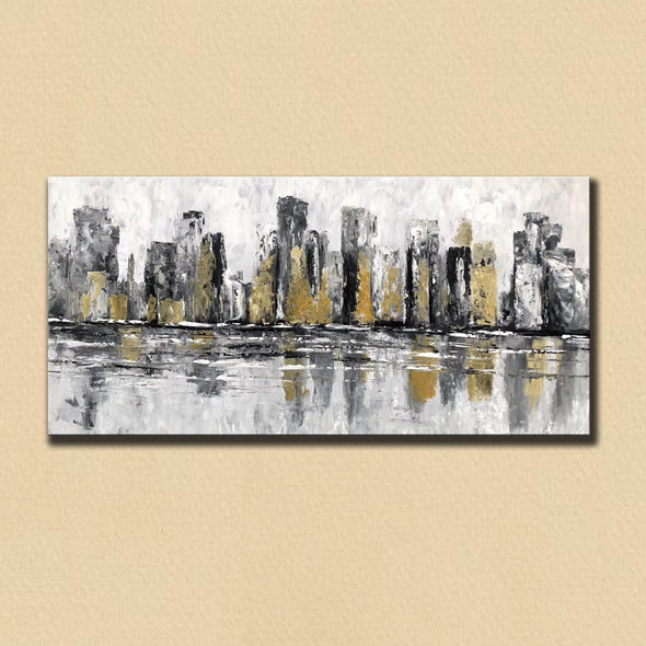 Famous artists paintings | Abstract canvas art F381-4