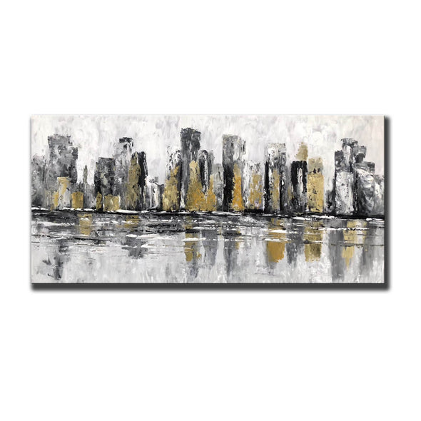 Famous artists paintings | Abstract canvas art F381-5
