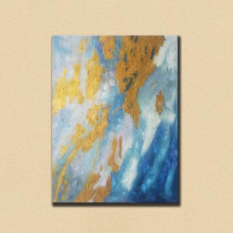 Image of Large Abstract Oil Painting | Abstract Paintings On Canvas F388-3