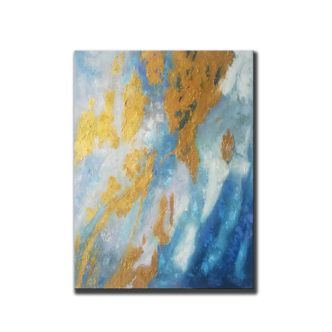 Image of Large Abstract Oil Painting | Abstract Paintings On Canvas F388-4