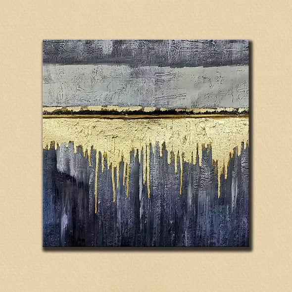 Oversized wall art | Modern abstract painting F390-3