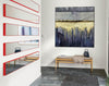 Oversized wall art | Modern abstract painting F390-9