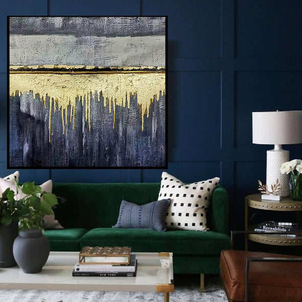 Oversized wall art | Modern abstract painting F390-6