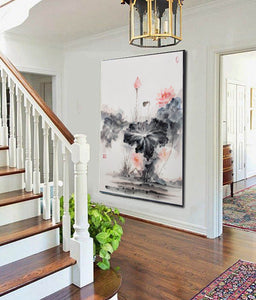 Oversized wall art | Oversized abstract wall art  F287-1