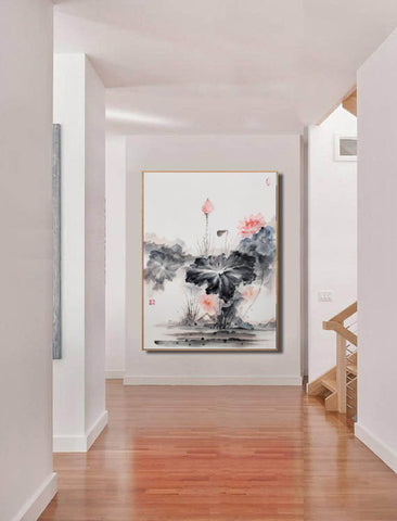 Image of Oversized wall art | Oversized abstract wall art  F287-2