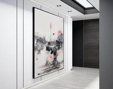 Oversized wall art | Oversized abstract wall art  F287-5
