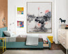 Oversized wall art | Oversized abstract wall art  F287-6