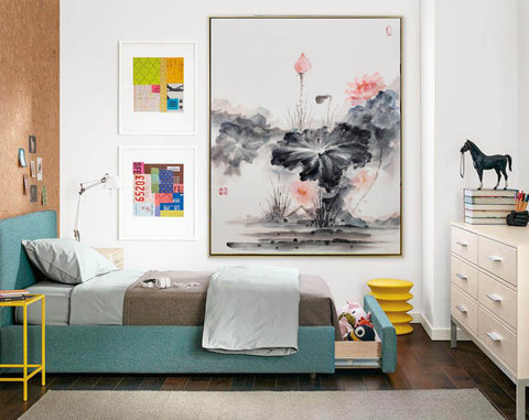 Image of Oversized wall art | Oversized abstract wall art  F287-6